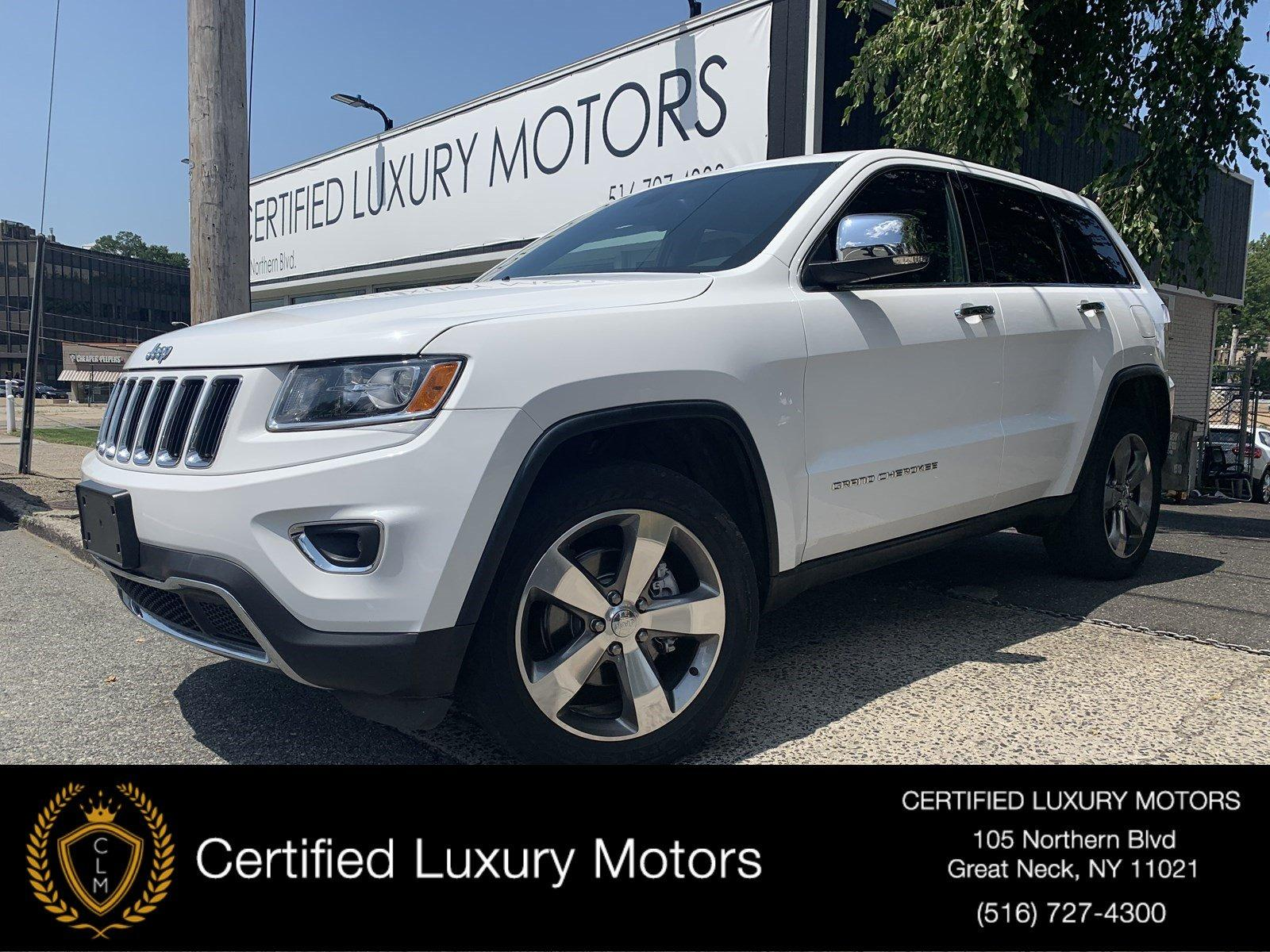 Used 2015 Jeep Grand Cherokee Limited | Great Neck, NY