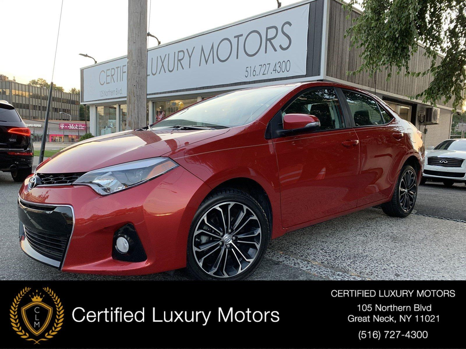 Used 2016 Toyota Corolla S Plus (6-Speed) | Great Neck, NY