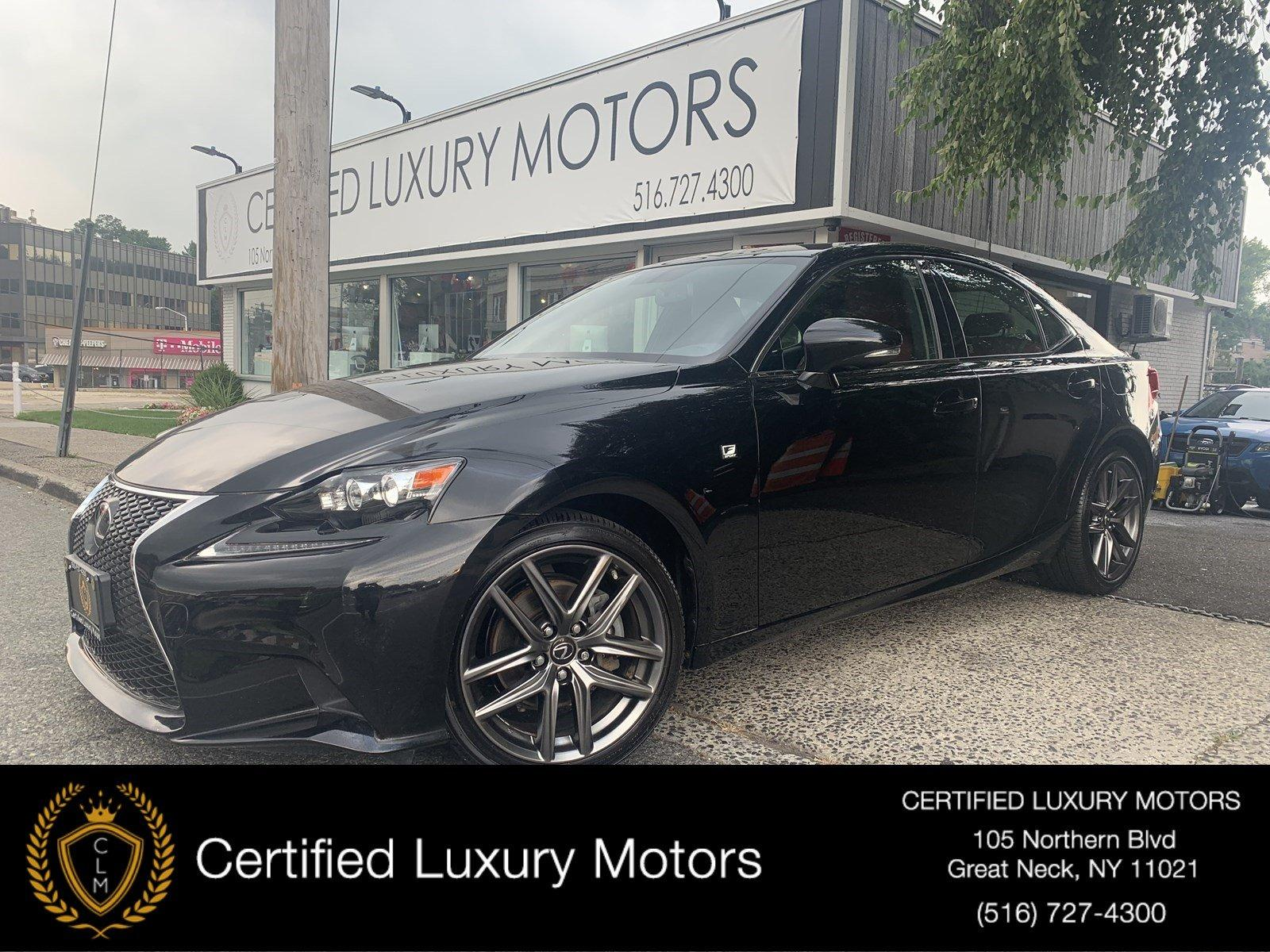 Used 2015 Lexus IS 250 F-Sport (Red Interior)  | Great Neck, NY