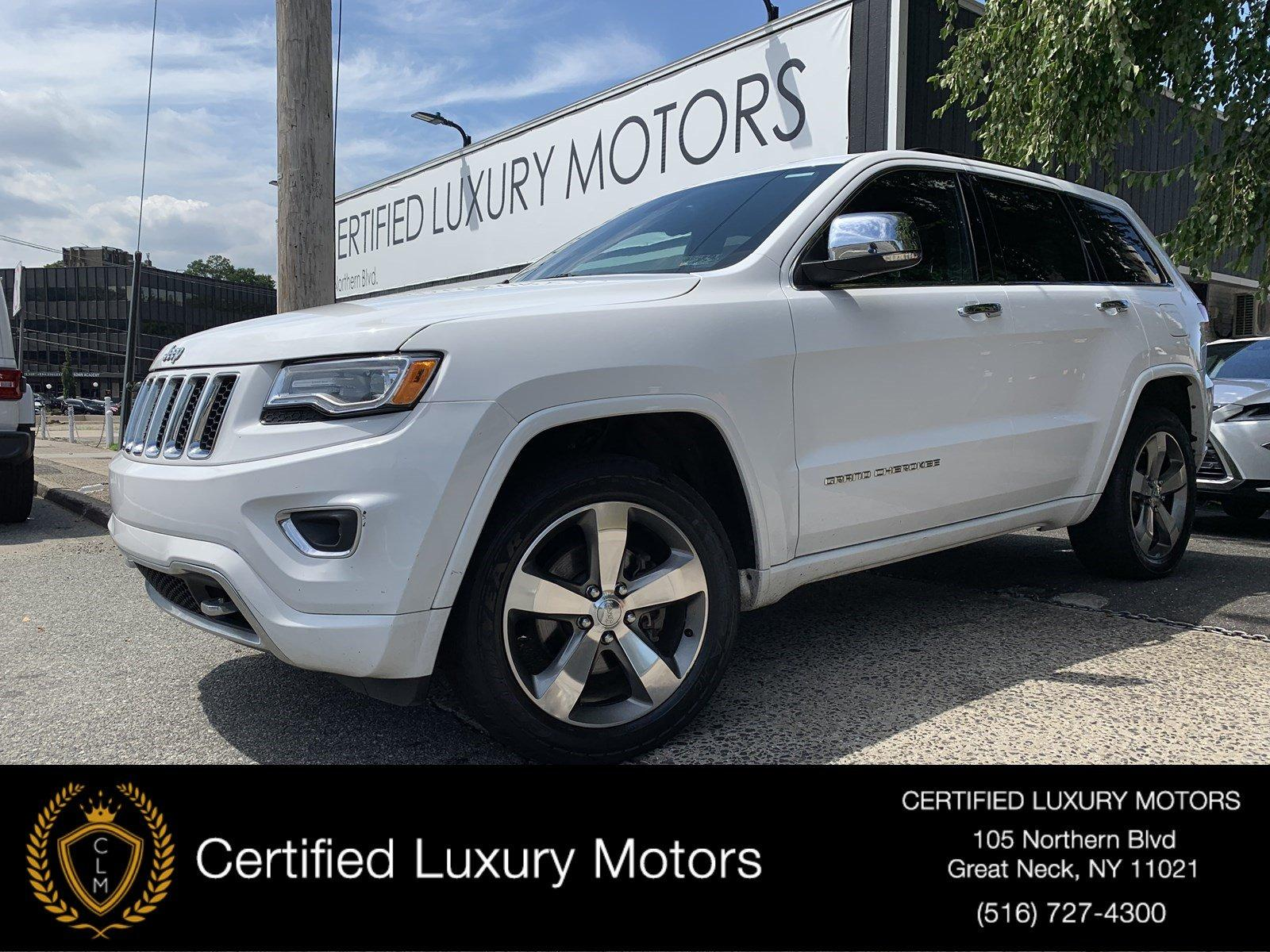 Used 2015 Jeep Grand Cherokee Overland | Great Neck, NY