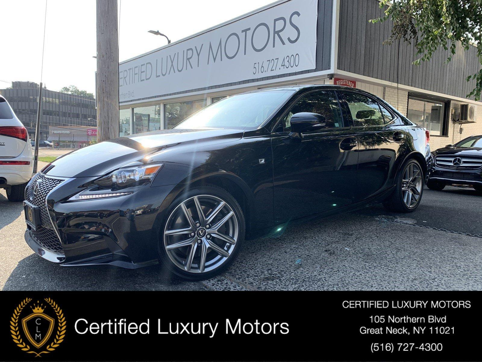 Used 2016 Lexus IS 300 F-Sport (Red Interior)  | Great Neck, NY
