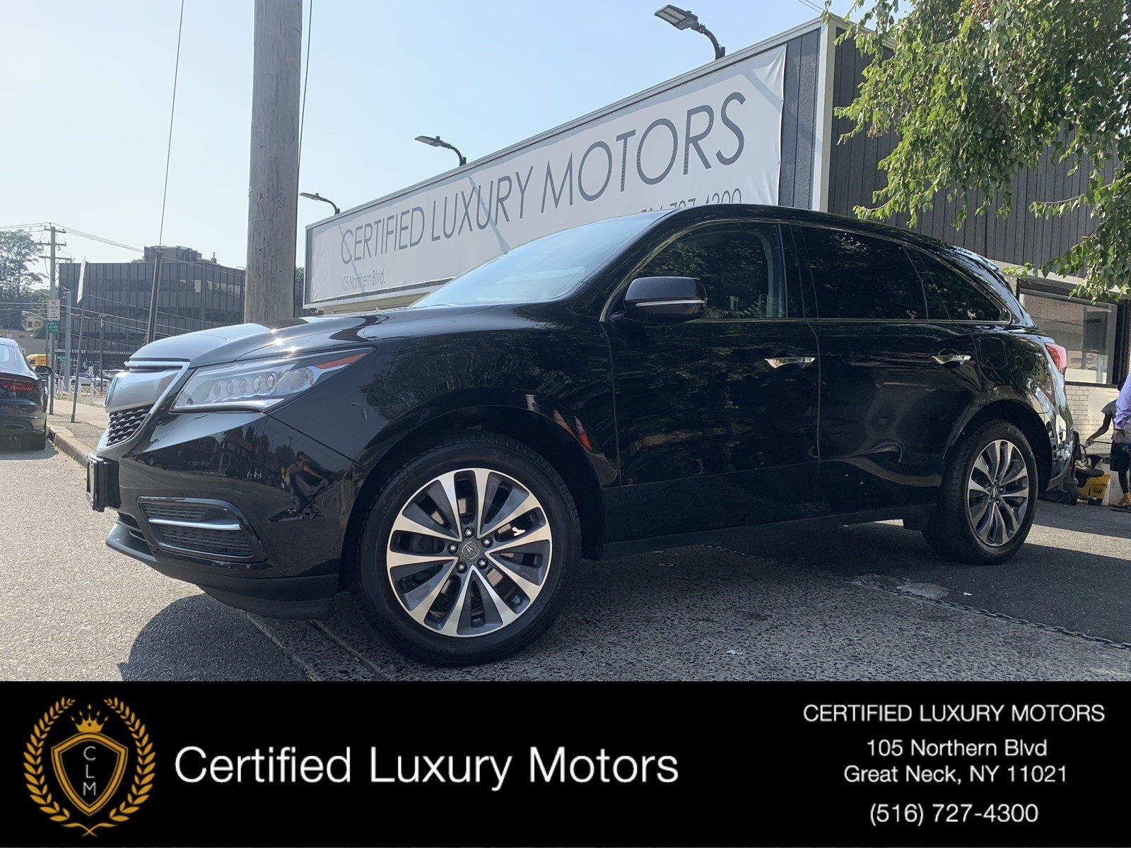 Used 2016 Acura MDX w/Tech/Entertainment | Great Neck, NY