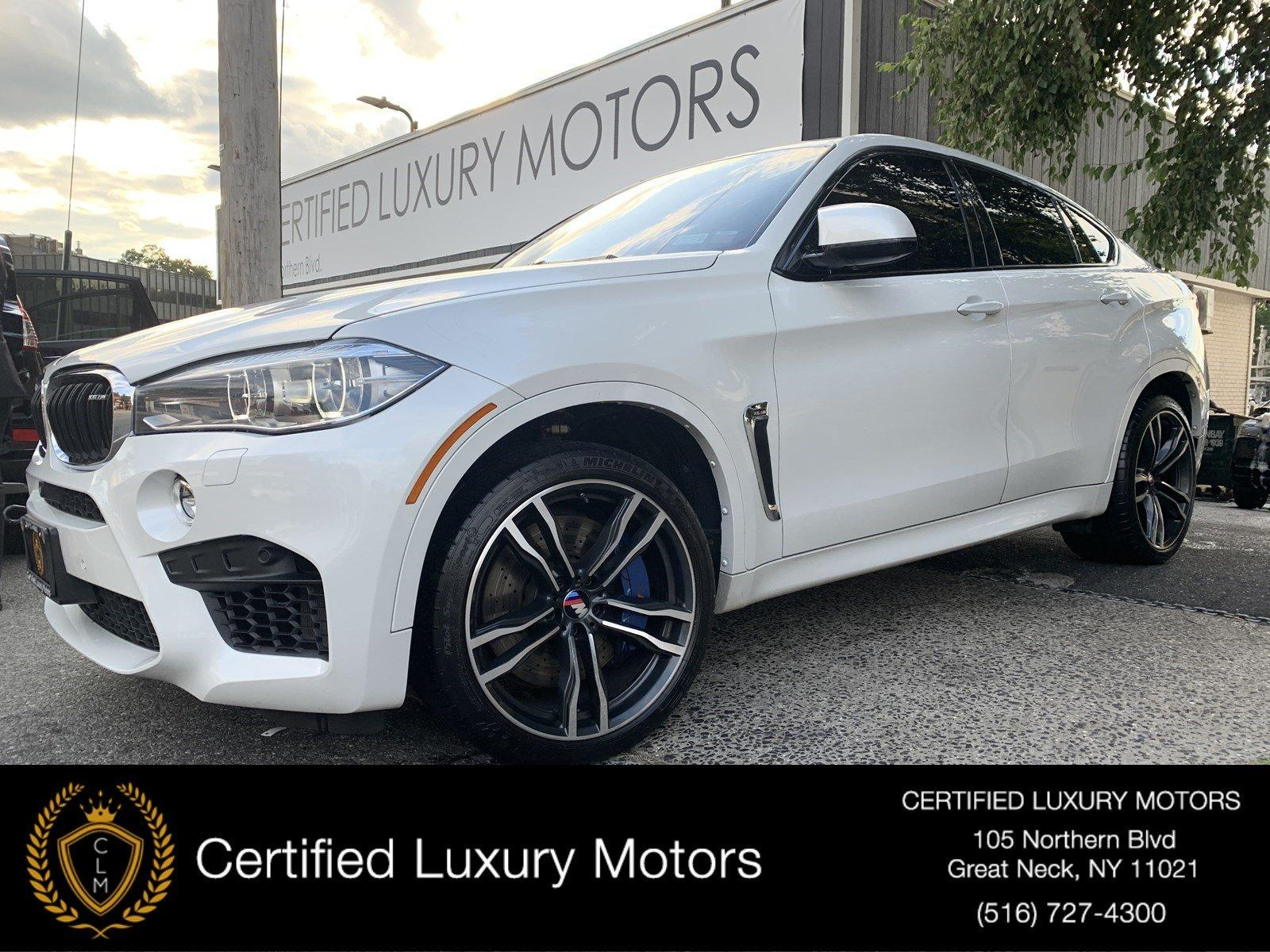 Used 2017 BMW X6 M (Red Interior/ Entertainment Pkg)  | Great Neck, NY
