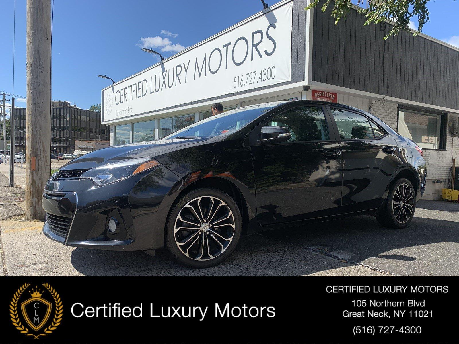 Used 2016 Toyota Corolla S | Great Neck, NY