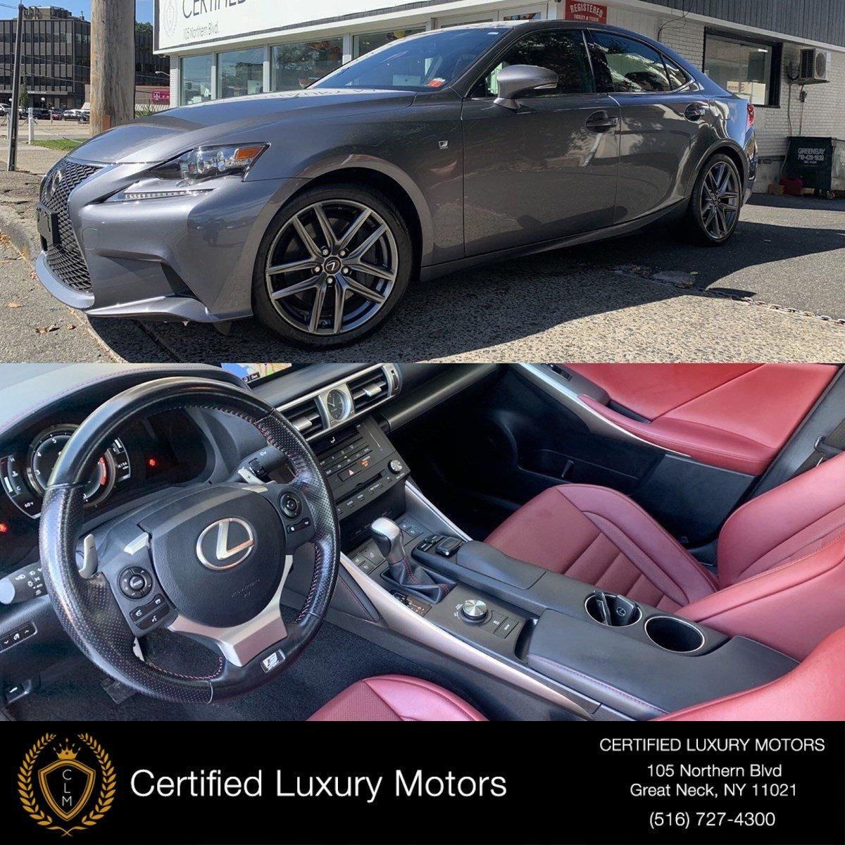 Used 2016 Lexus IS 300 Awd F-Sport (RED INTERIOR)  | Great Neck, NY