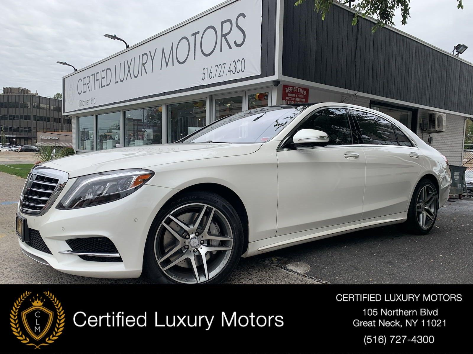 Used 2016 Mercedes-Benz S-Class S 550 AMG Pkg | Great Neck, NY