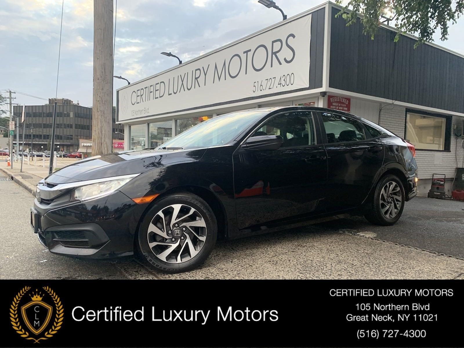 Used 2016 Honda Civic Sedan EX | Great Neck, NY
