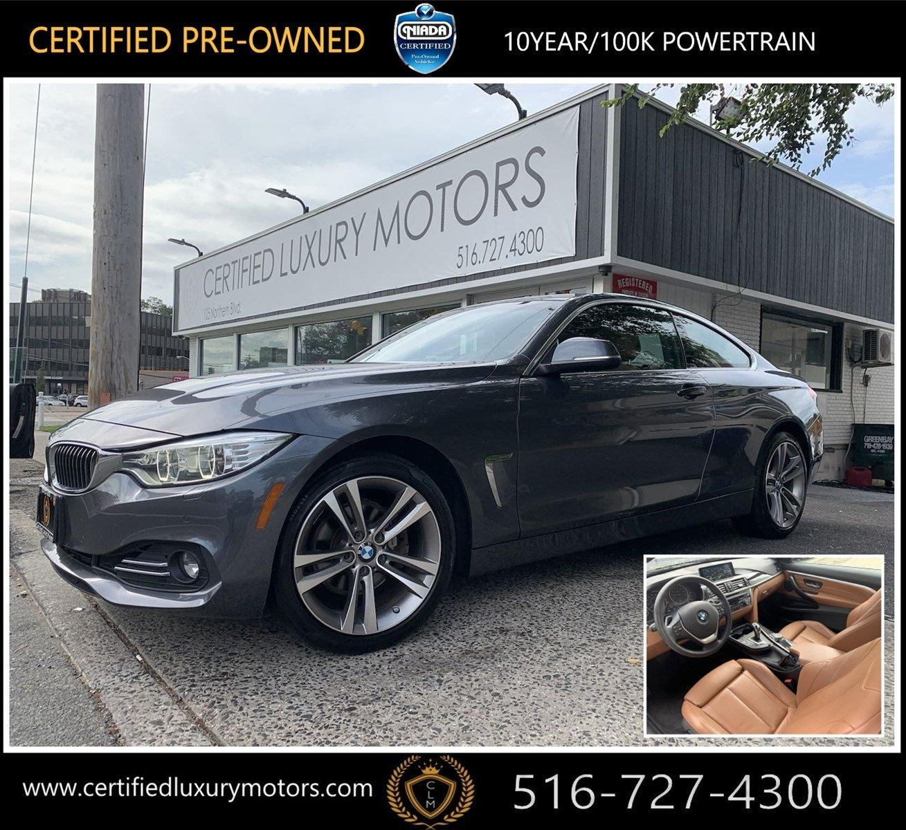Used 2016 BMW 4 Series 428i xDrive (Navi, Sports Pkg) | Great Neck, NY