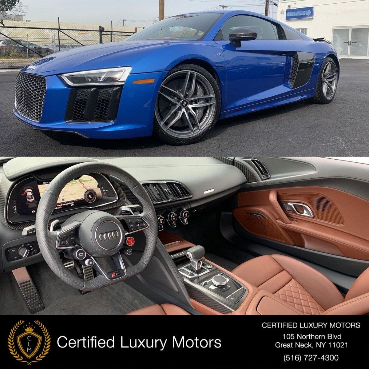 Used 2017 Audi R8 Coupe V10 plus | Great Neck, NY