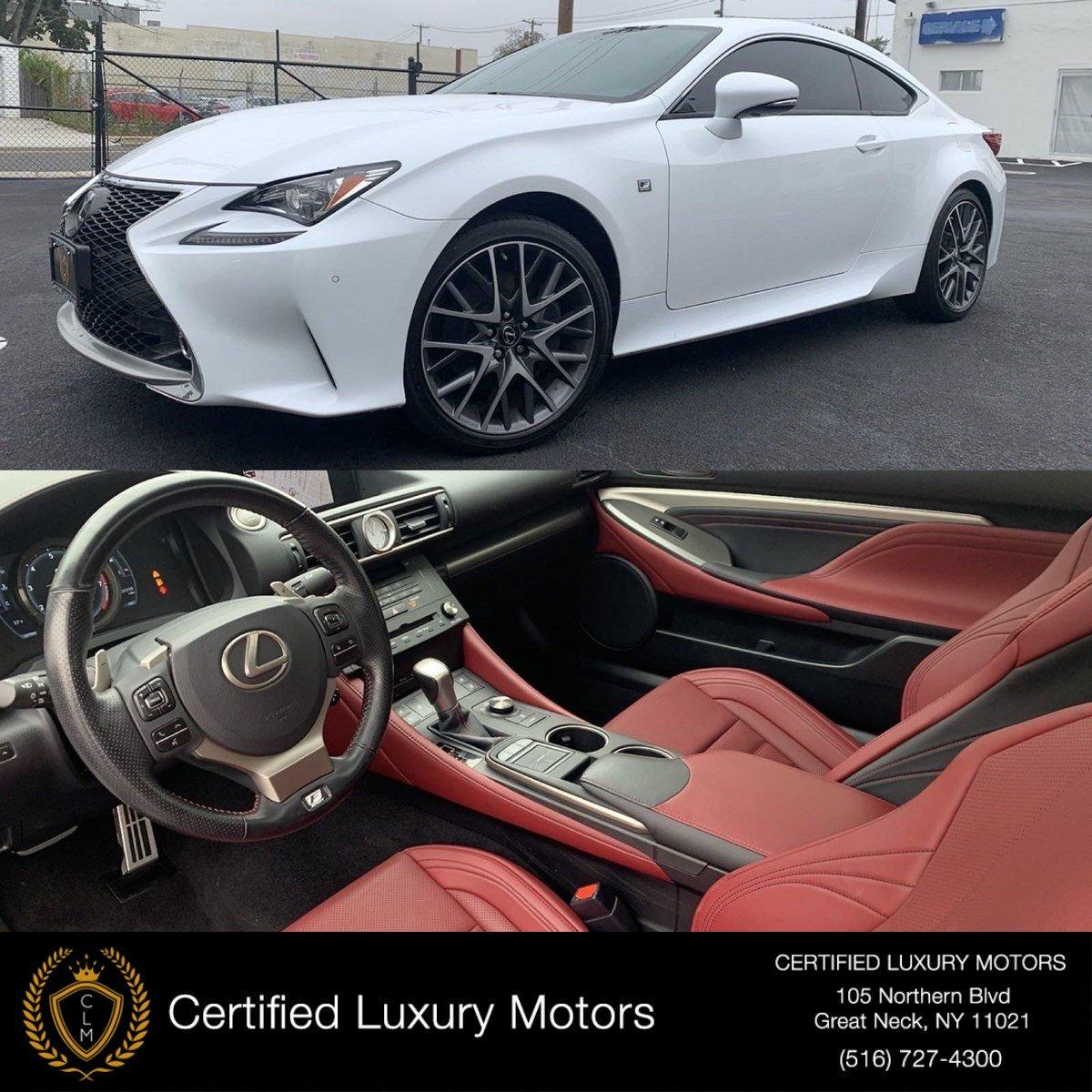 Used 2016 Lexus RC 300 AWD F-Sport  | Great Neck, NY