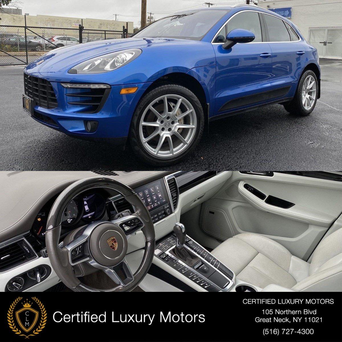 2017 Porsche Macan S Stock C0395 For Sale Near Great Neck Ny Ny Porsche Dealer