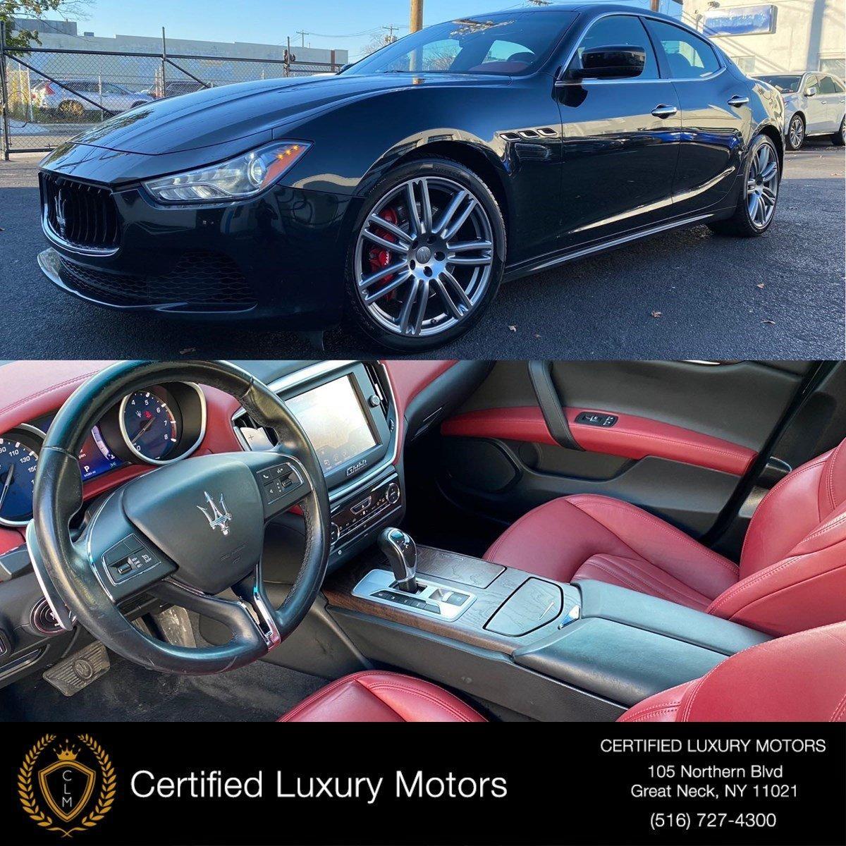 Used 2016 Maserati Ghibli S Q4 | Great Neck, NY