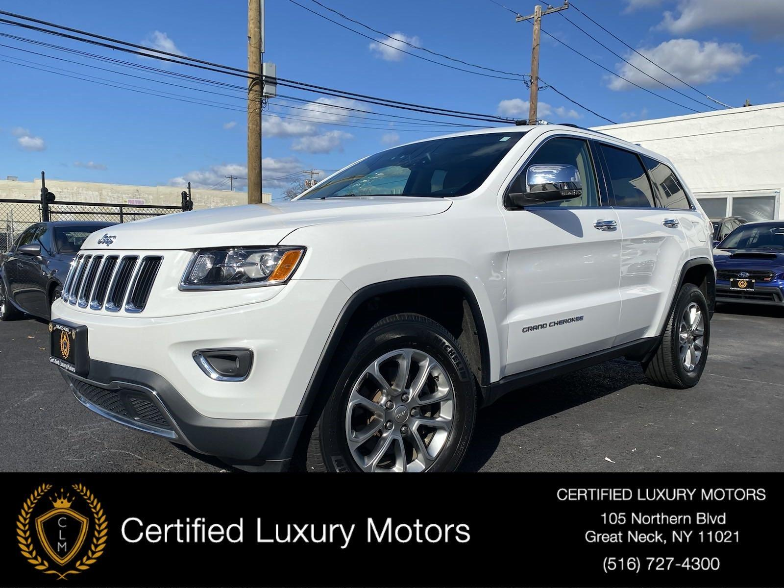 Used 2016 Jeep Grand Cherokee Limited | Great Neck, NY