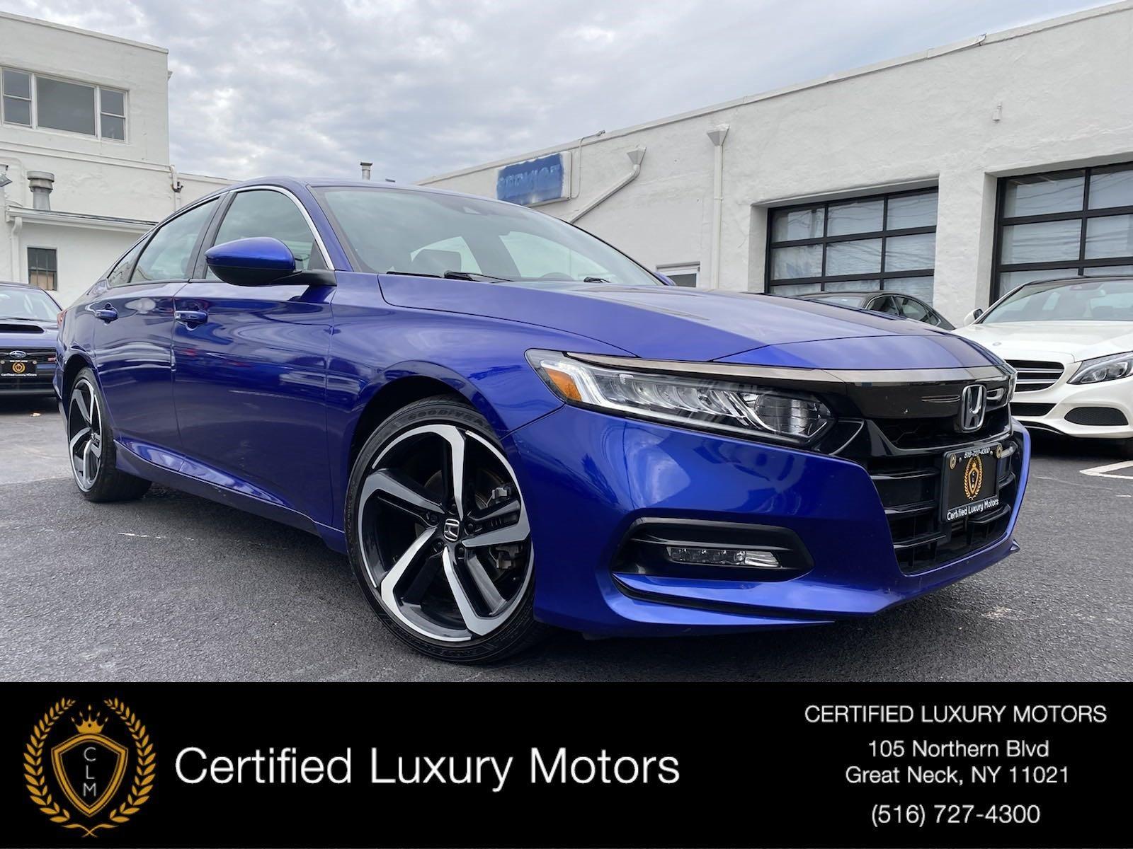 Used 2018 Honda Accord Sedan Sport 1.5T | Great Neck, NY