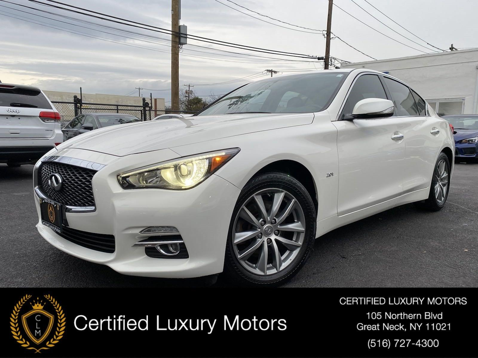 Used 2016 INFINITI Q50 2.0T PREMIUM | Great Neck, NY