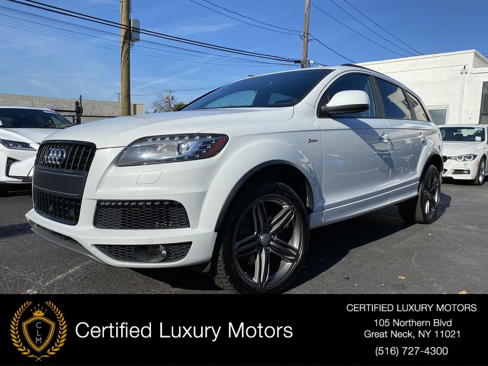 Used 2015 Audi Q7 3.0T S line Prestige | Great Neck, NY