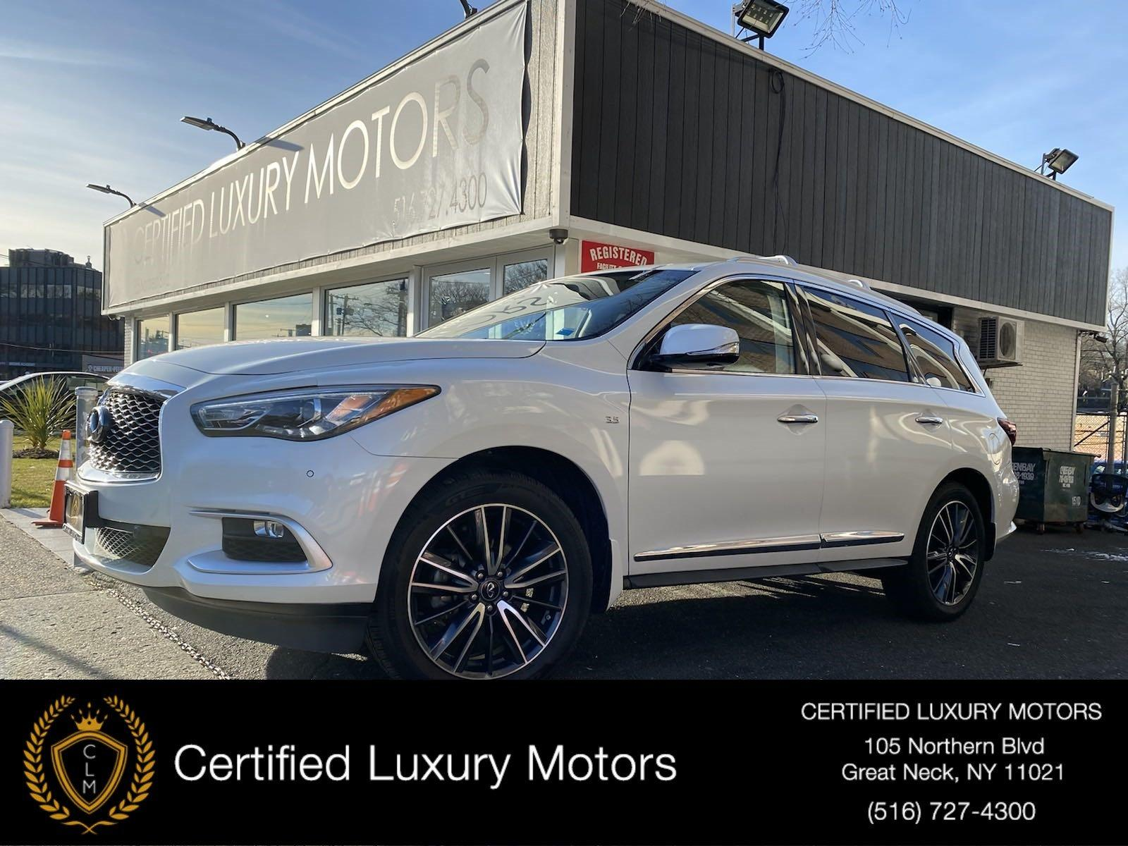 Used 2016 INFINITI QX60 AWD w/ Entertainment Pkg  | Great Neck, NY