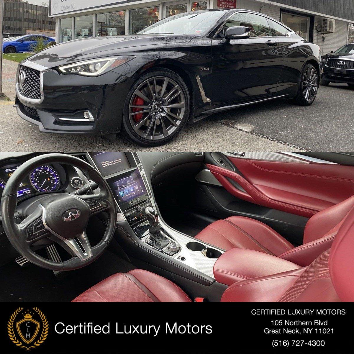 Used 2017 INFINITI Q60 3.0T Red Sport 400 | Great Neck, NY