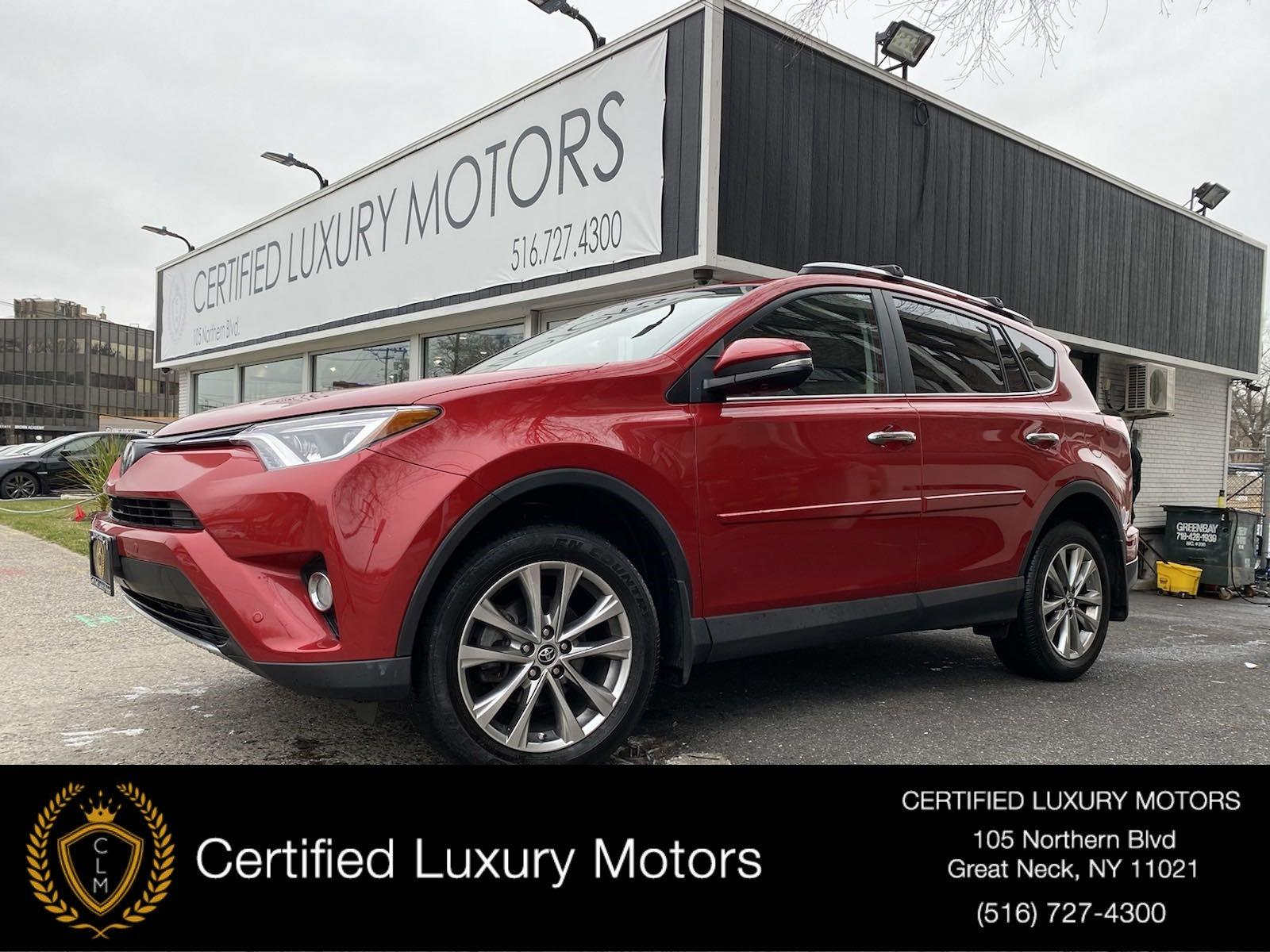 Used 2017 Toyota RAV4 Limited | Great Neck, NY
