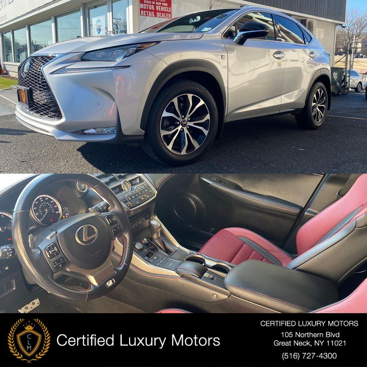 Used 2016 Lexus NX 200t F Sport | Great Neck, NY