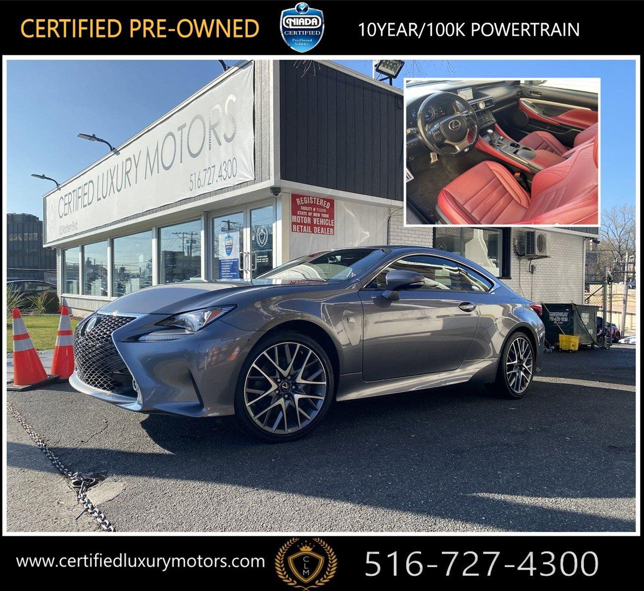 Used 2017 Lexus RC RC 300 F Sport | Great Neck, NY
