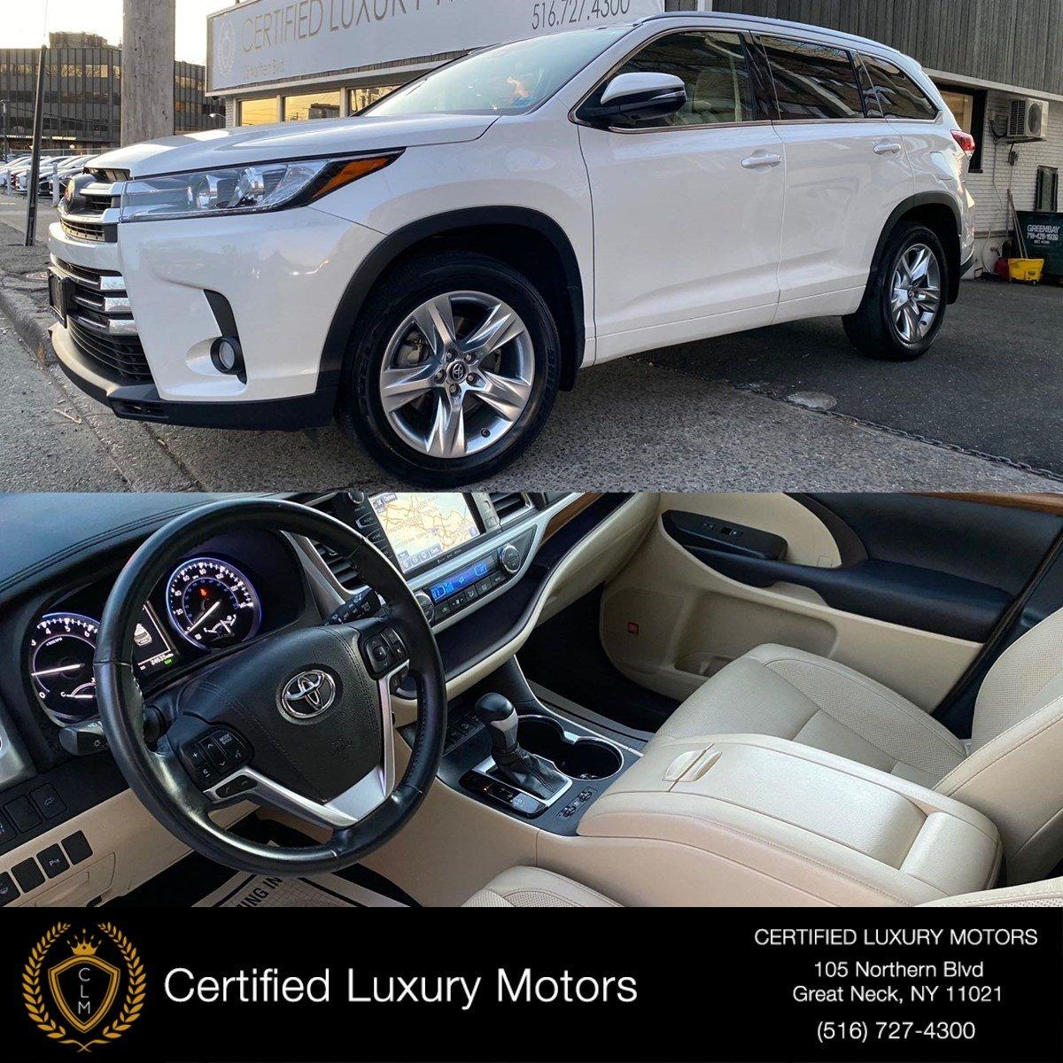 Used 2017 Toyota Highlander Limited | Great Neck, NY