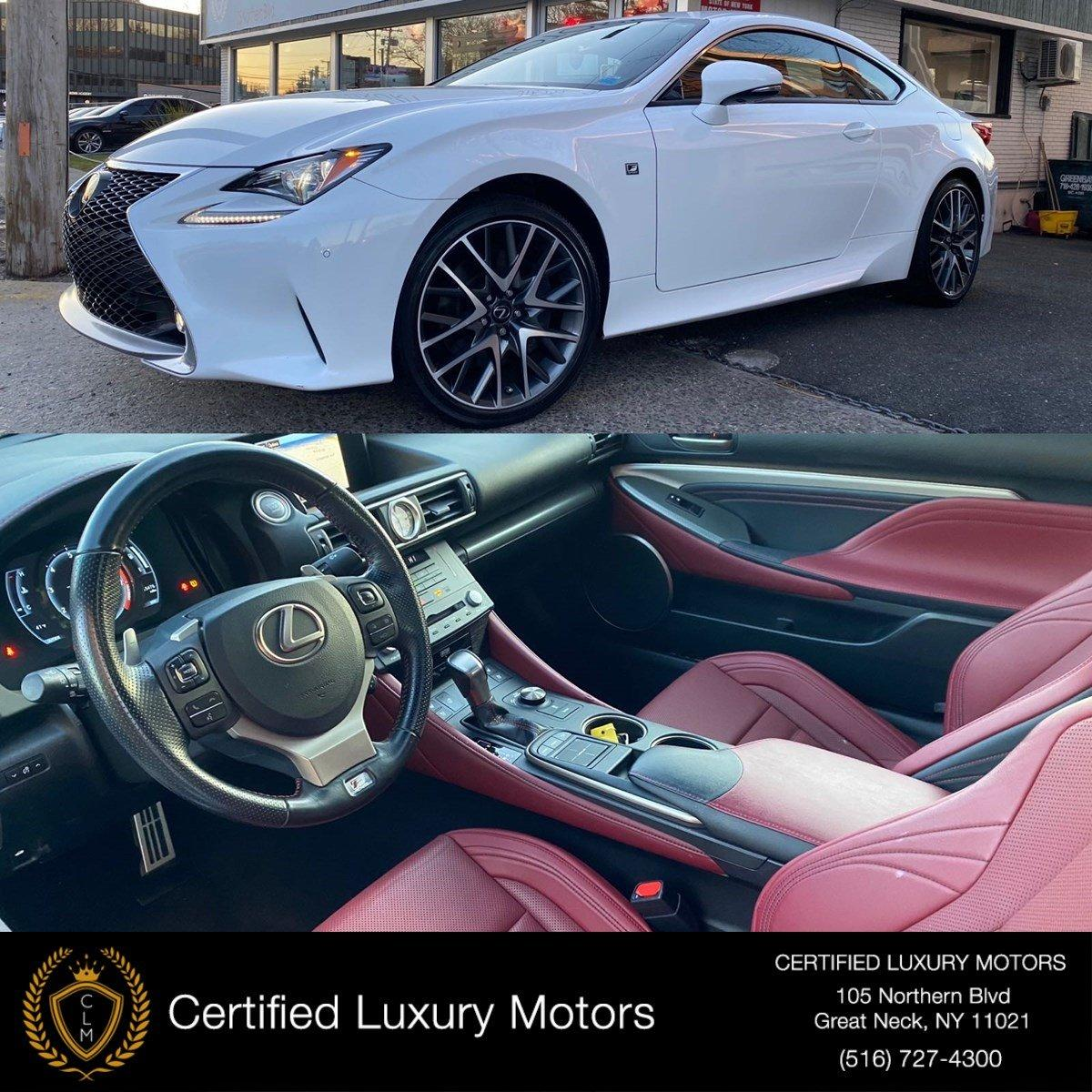 2017 Lexus RC RC 350 F Sport Stock # C0547 For Sale Near