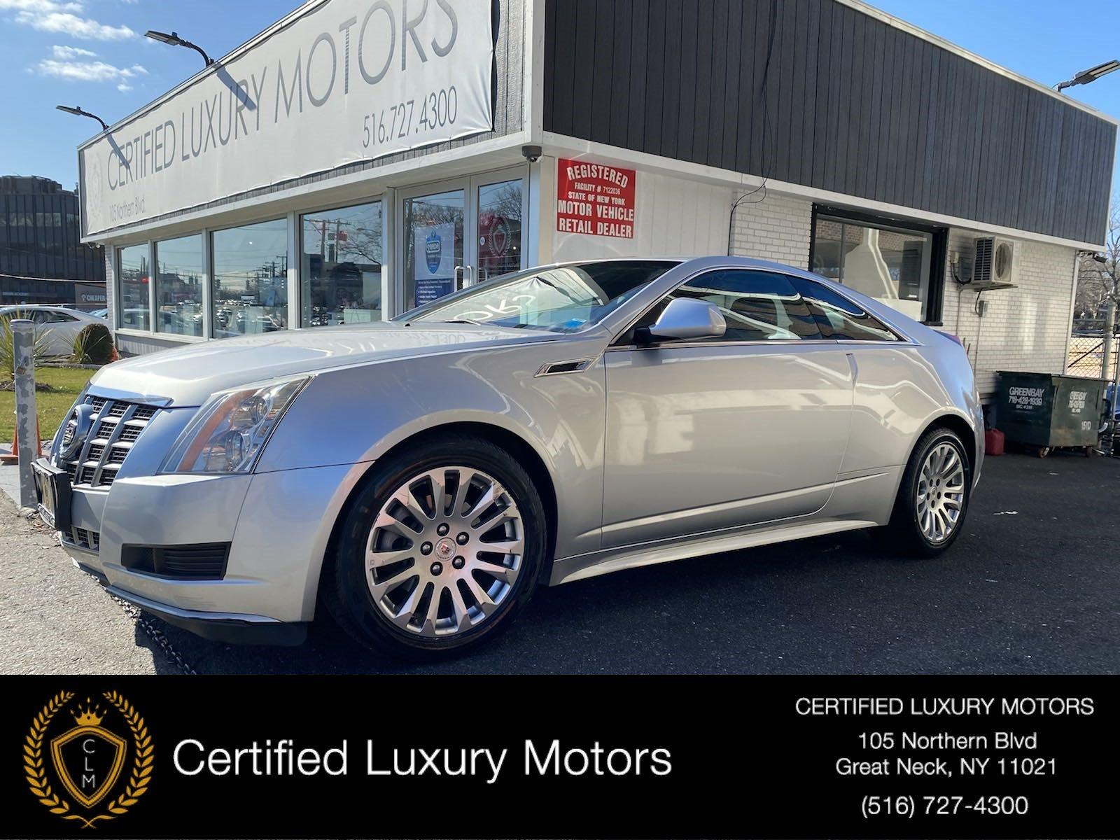 Used 2013 Cadillac CTS Coupe  | Great Neck, NY