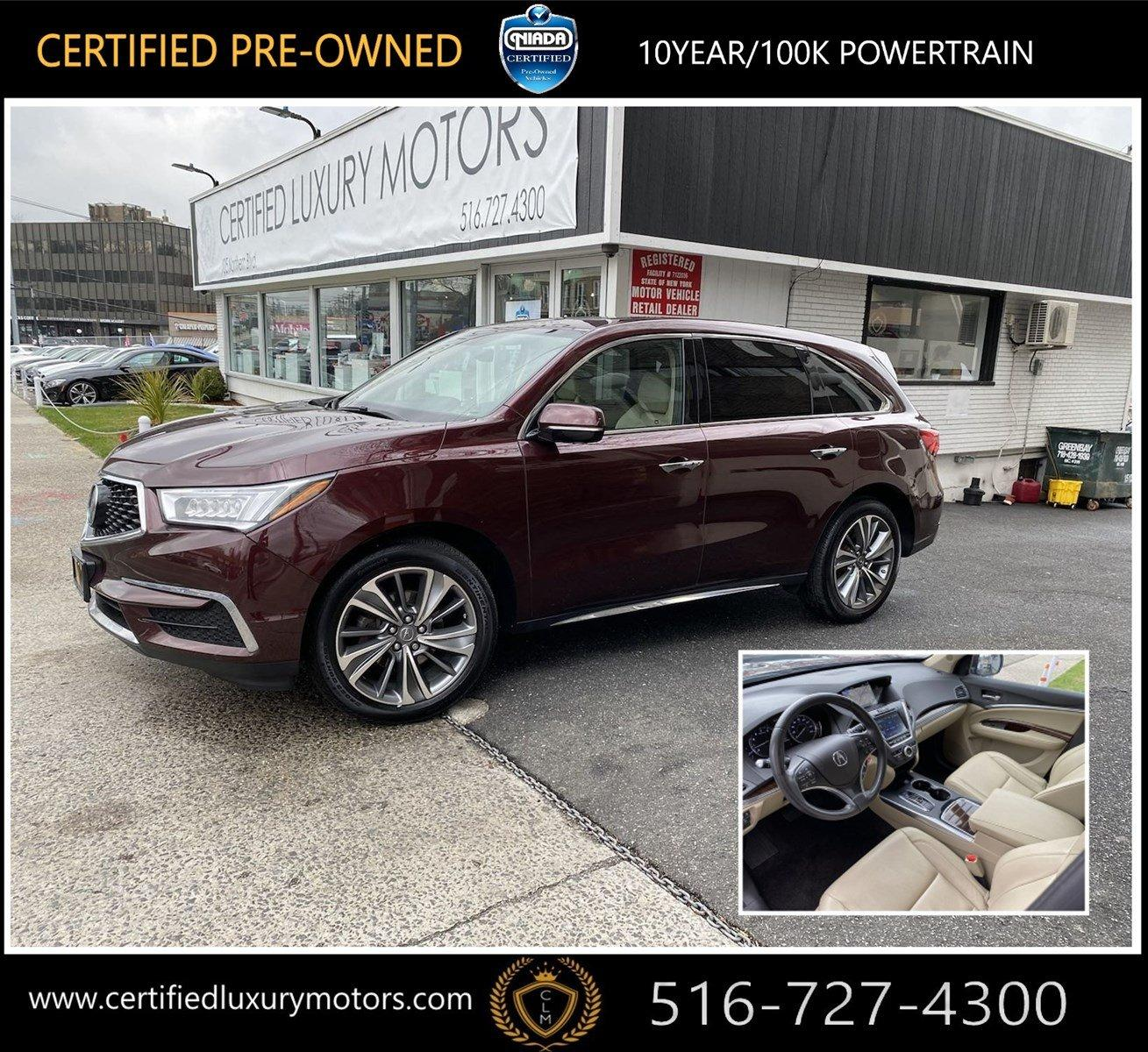 2017 Acura MDX W/Technology Pkg Stock # C0673 For Sale