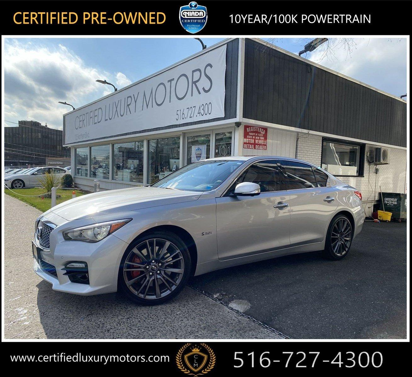 Used 2017 INFINITI Q50 Red Sport 400 | Great Neck, NY
