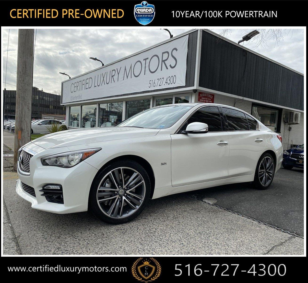 Used 2016 INFINITI Q50 3.0t Sport | Great Neck, NY