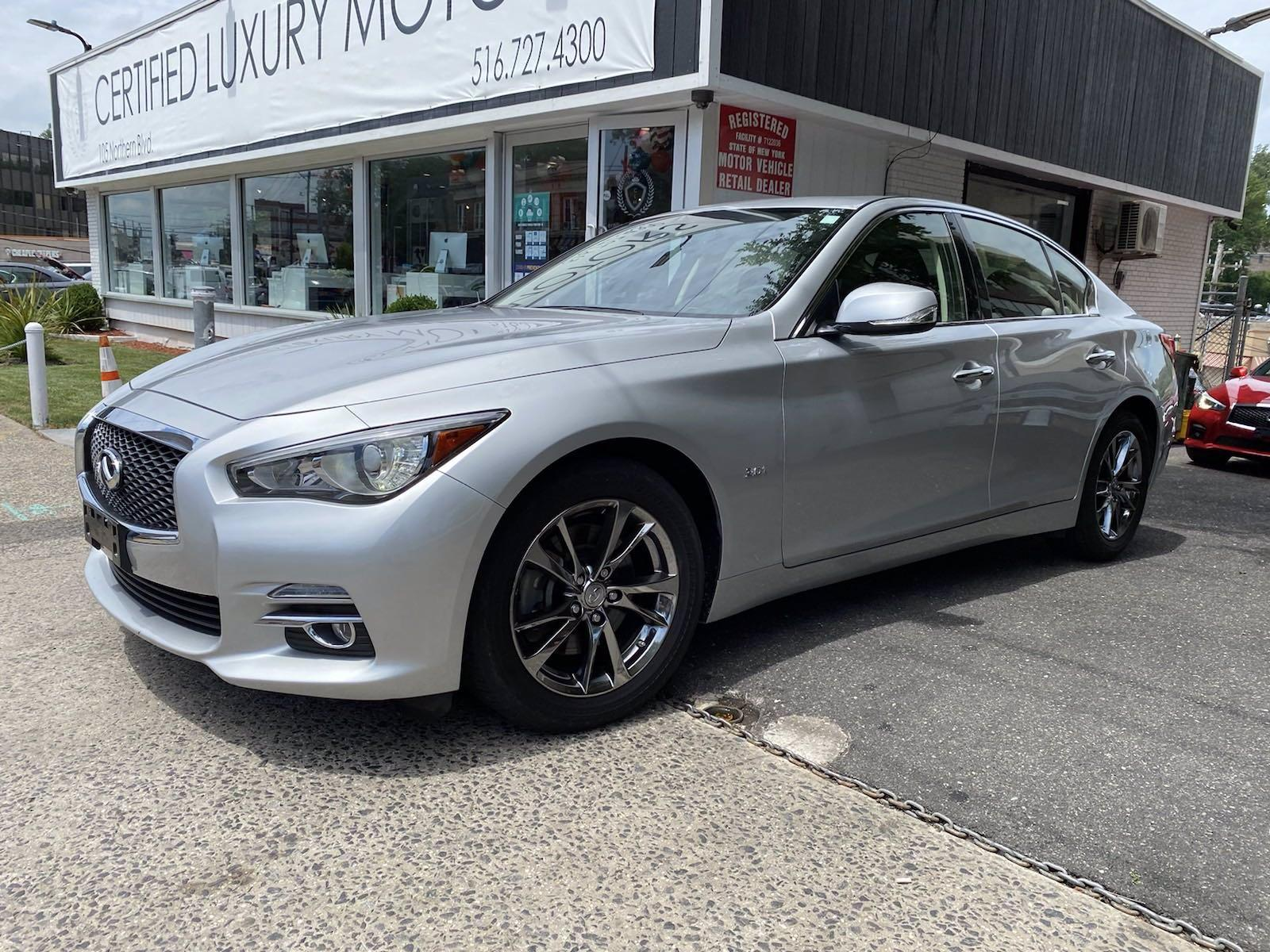 Used 2017 INFINITI Q50 3.0t Signature Edition | Great Neck, NY
