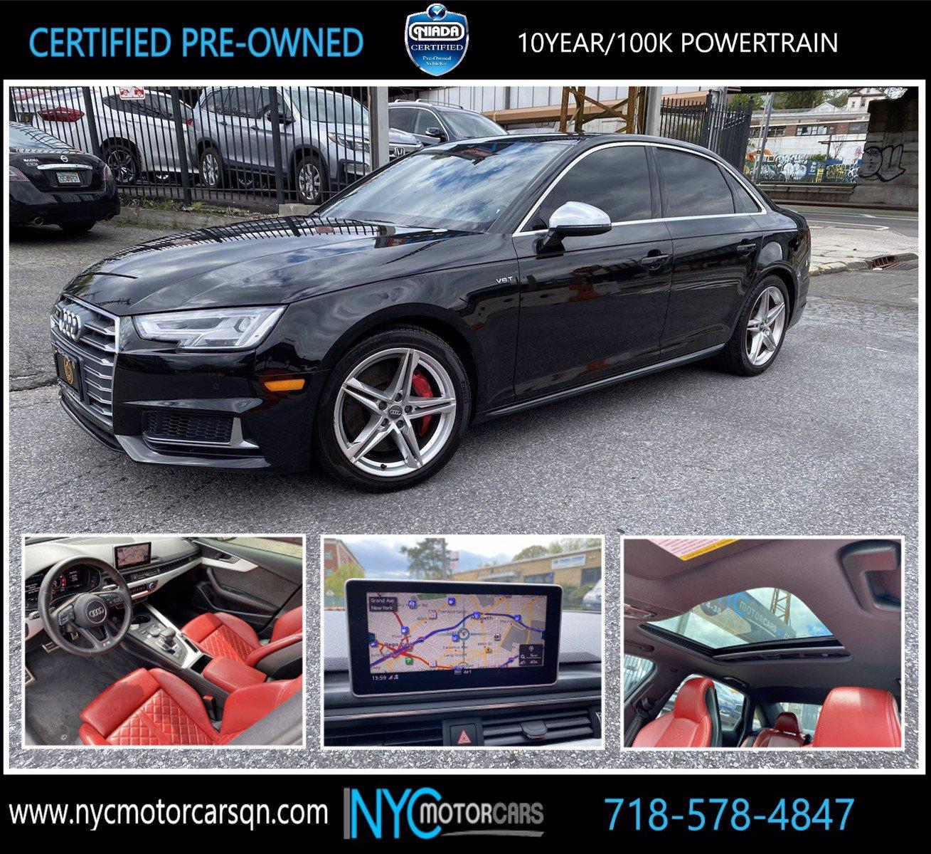 Used 2018 Audi S4 Premium Plus | Great Neck, NY