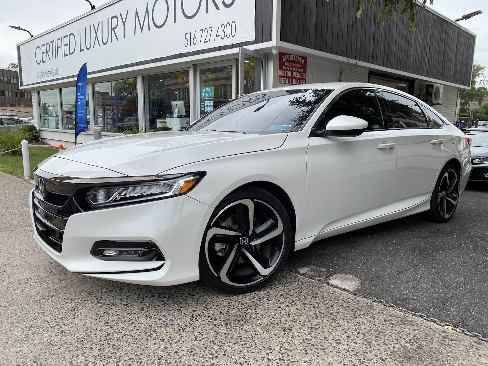 Used 2018 Honda Accord Sedan Sport 1.5T   Great Neck, NY