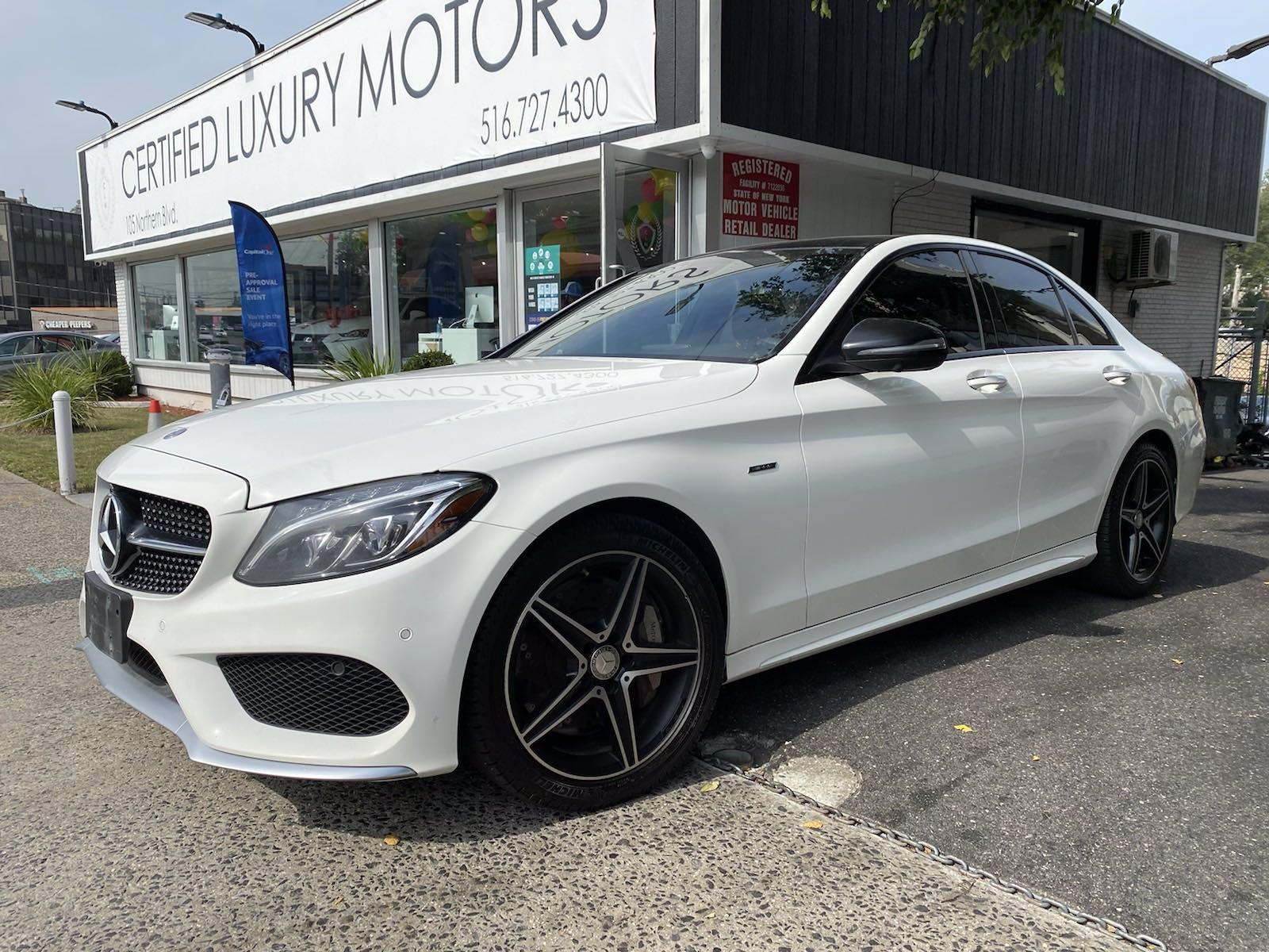 Used 2016 Mercedes-Benz C-Class C 450 AMG | Great Neck, NY