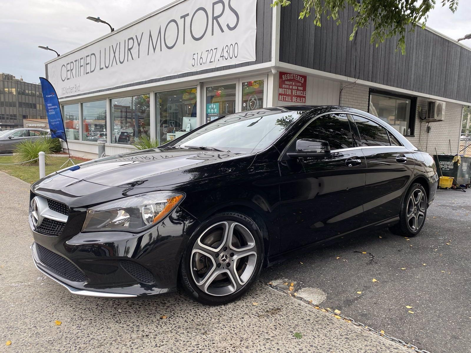 Used 2018 Mercedes-Benz CLA 250 4MATIC Coupe    Great Neck, NY