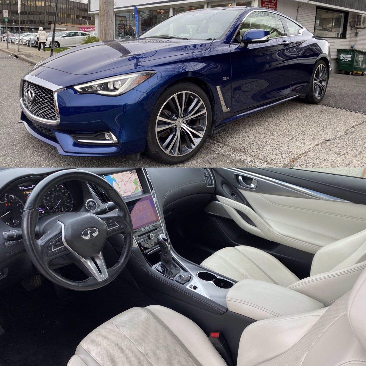 Used 2018 INFINITI Q60 3.0t LUXE AWD | Great Neck, NY