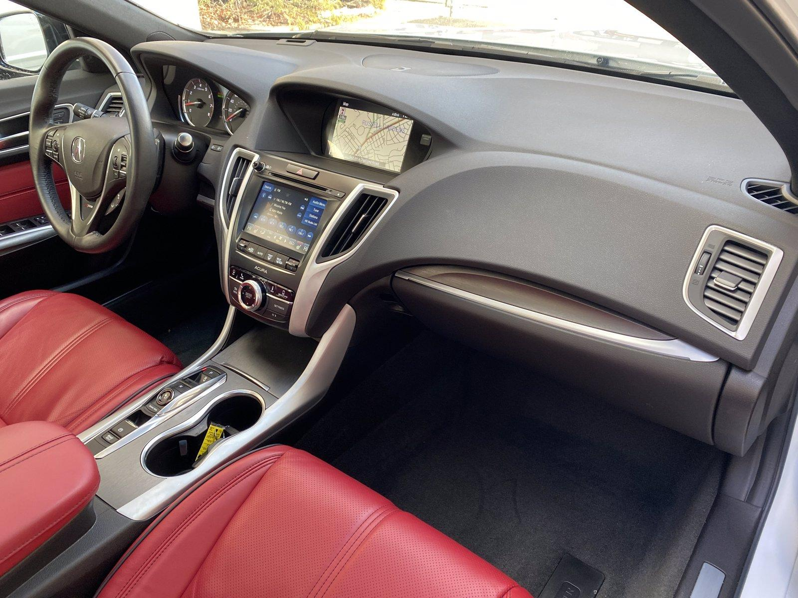 Used-2018-Acura-TLX-w/A-SPEC-Pkg-Red-Leather