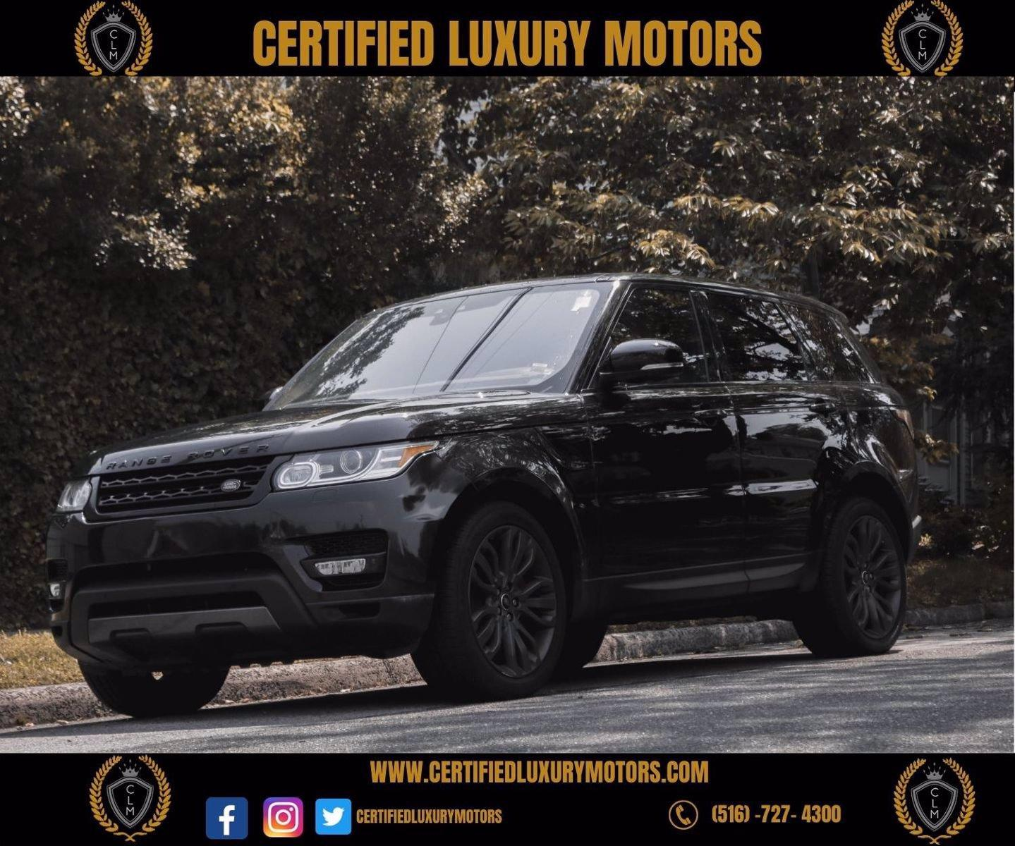 Used 2017 Land Rover Range Rover Sport 5.0L Supercharged Dynamic    Great Neck, NY
