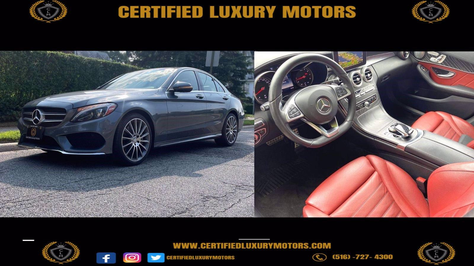 Used 2017 Mercedes-Benz C 300 4MATIC Sport  | Great Neck, NY