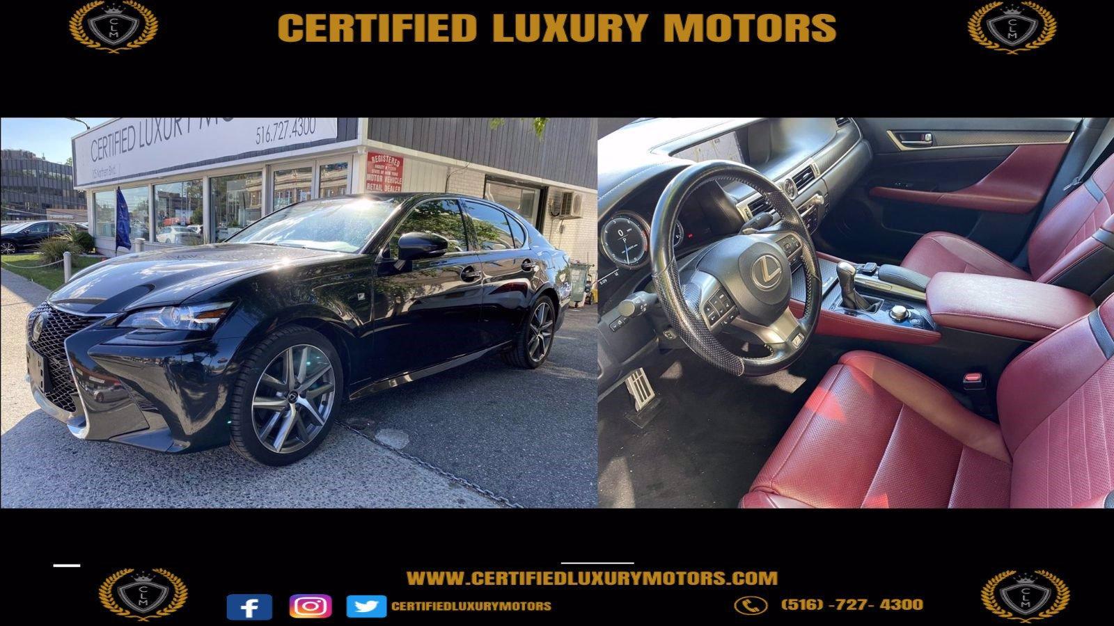 Used 2018 Lexus GS 350 F Sport  | Great Neck, NY