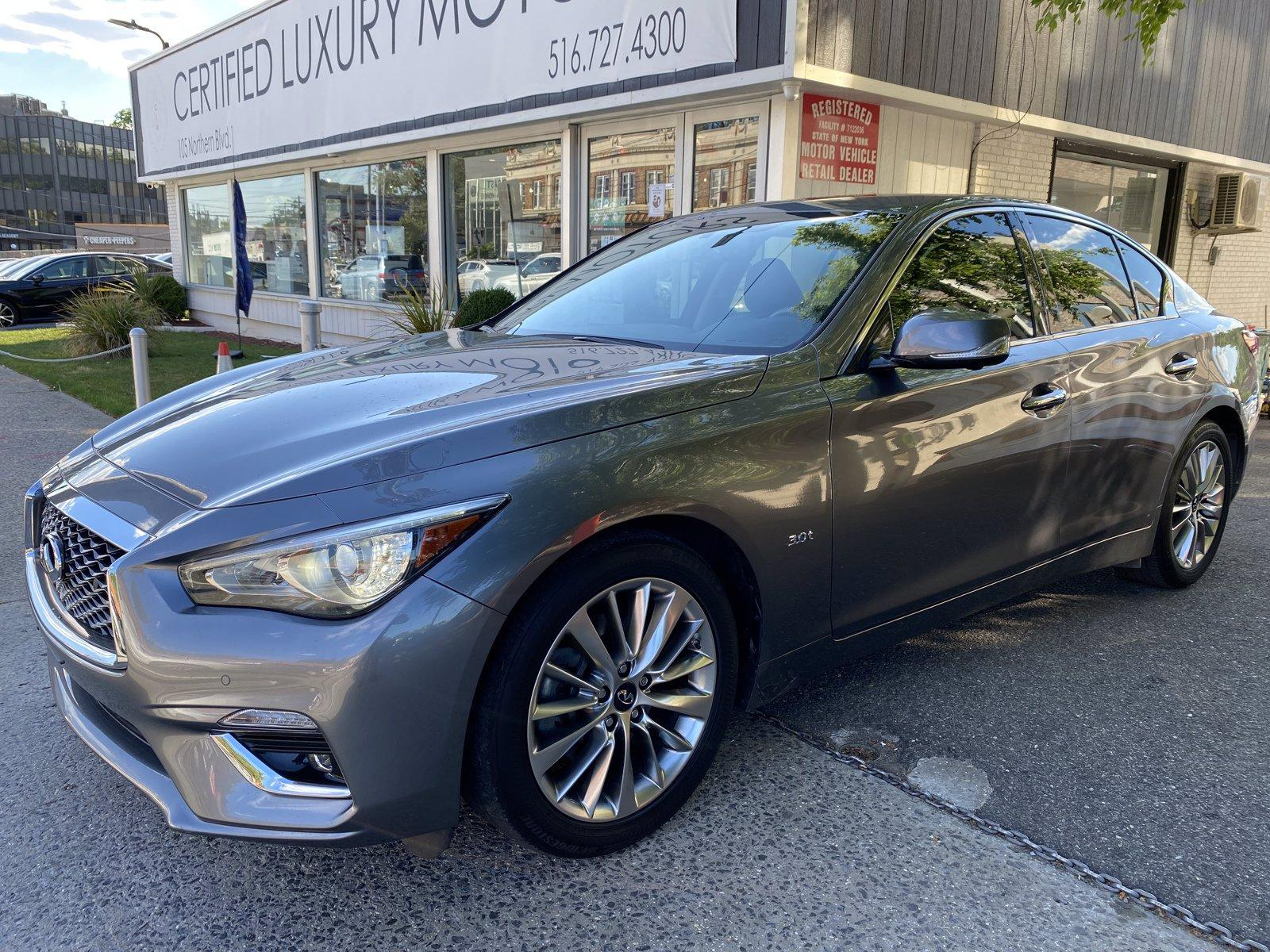 Used 2018 INFINITI Q50 3.0t LUXE   Great Neck, NY
