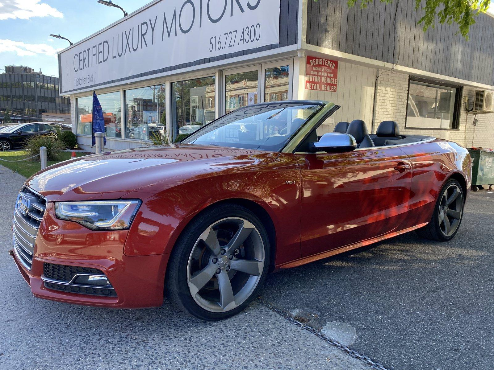 Used 2014 Audi S5 Premium Plus   Great Neck, NY