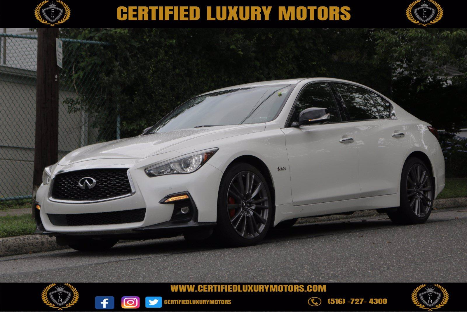 Used 2018 INFINITI Q50 RED SPORT 400 | Great Neck, NY