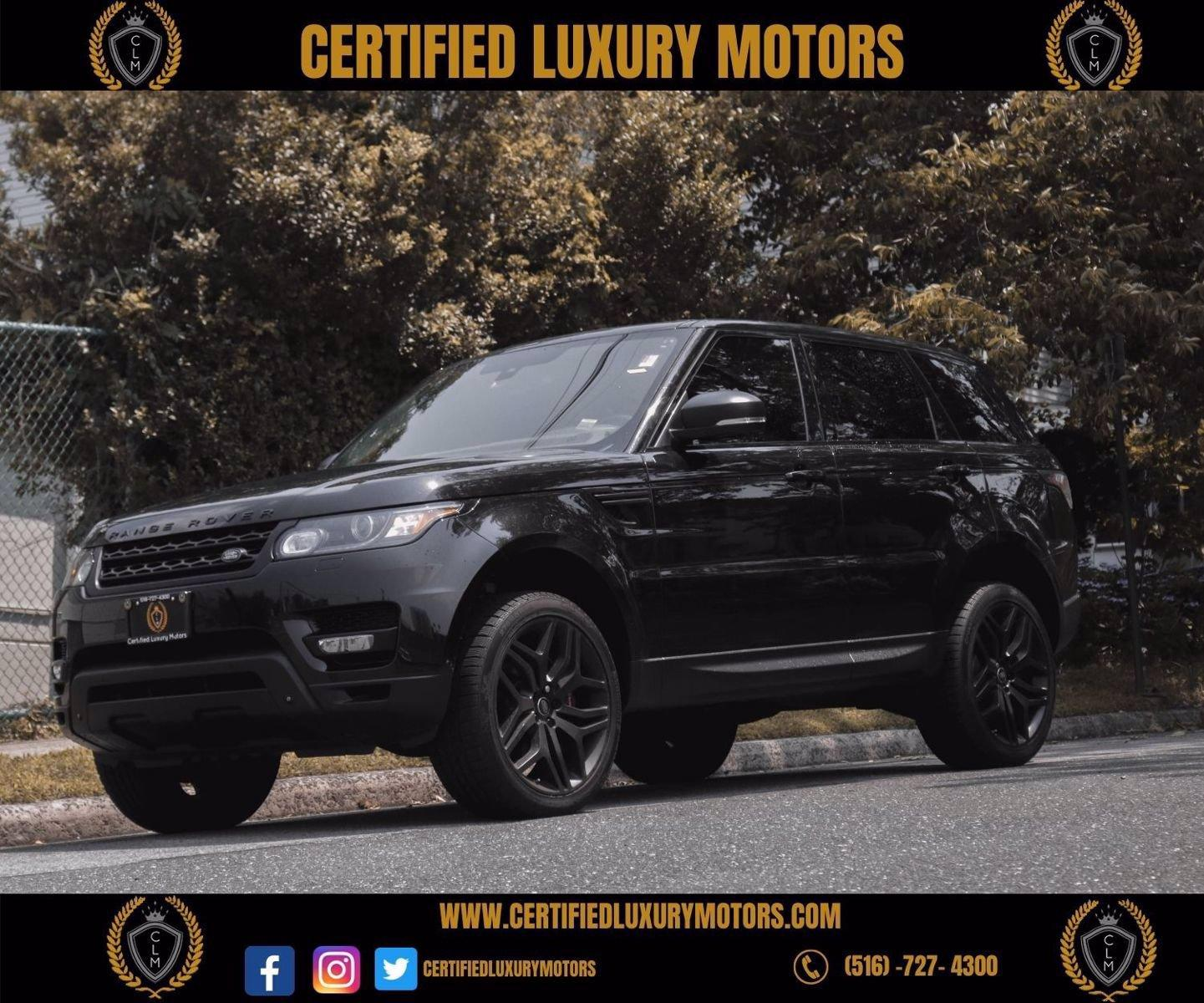 Used 2015 Land Rover Range Rover Sport Supercharged | Great Neck, NY