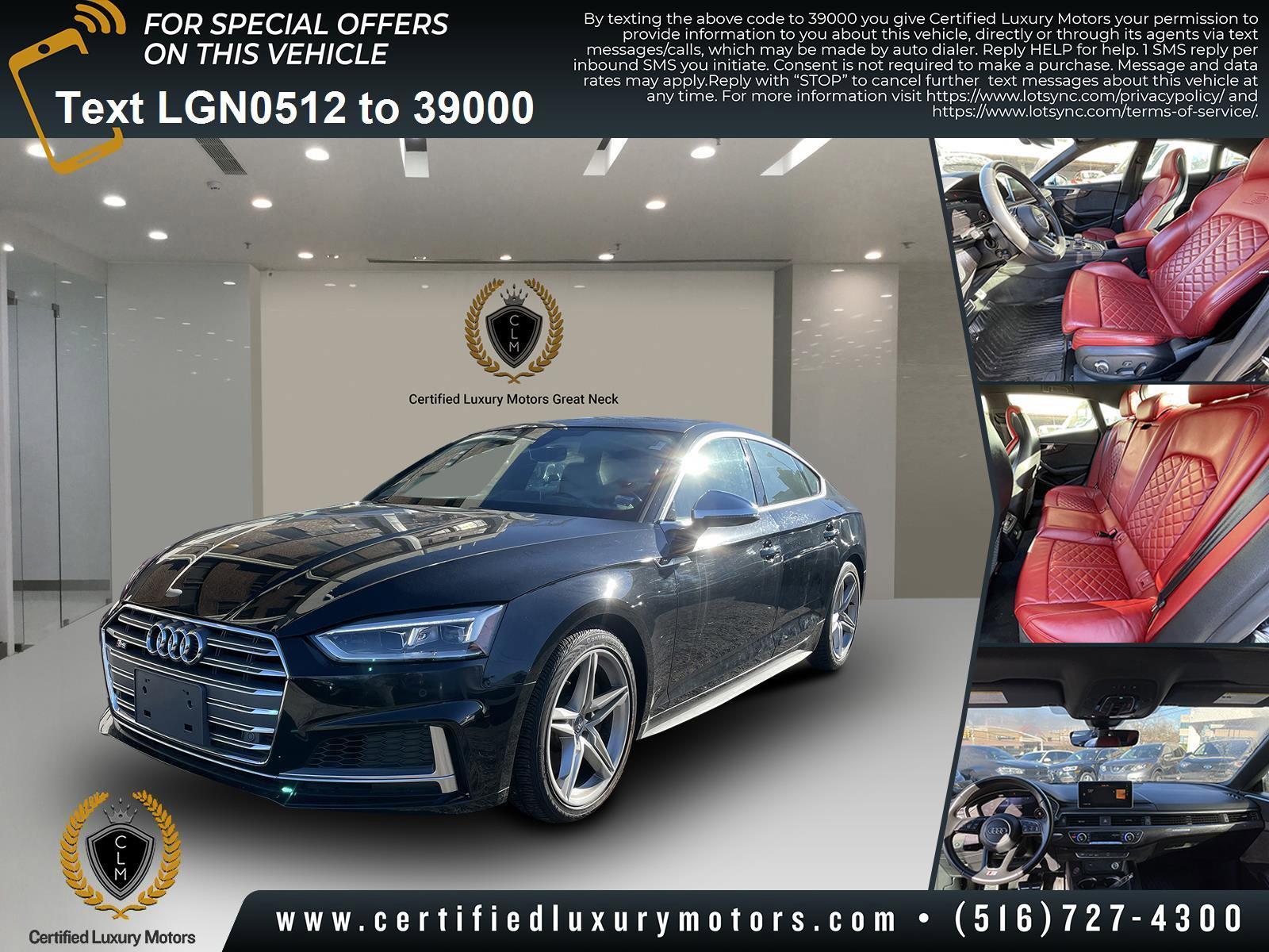 Used 2018 Audi S5 Sportback Premium Plus | Great Neck, NY