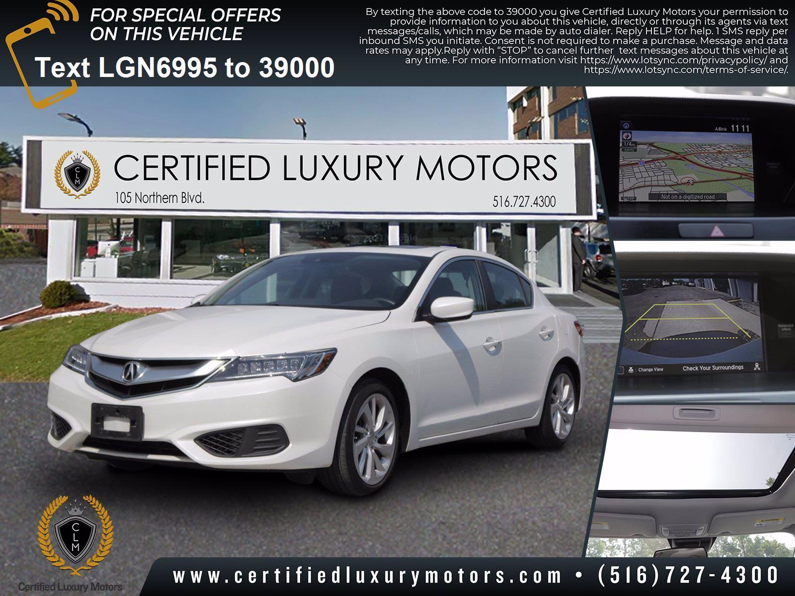 Used 2018 Acura ILX w/Technology Plus Pkg | Great Neck, NY