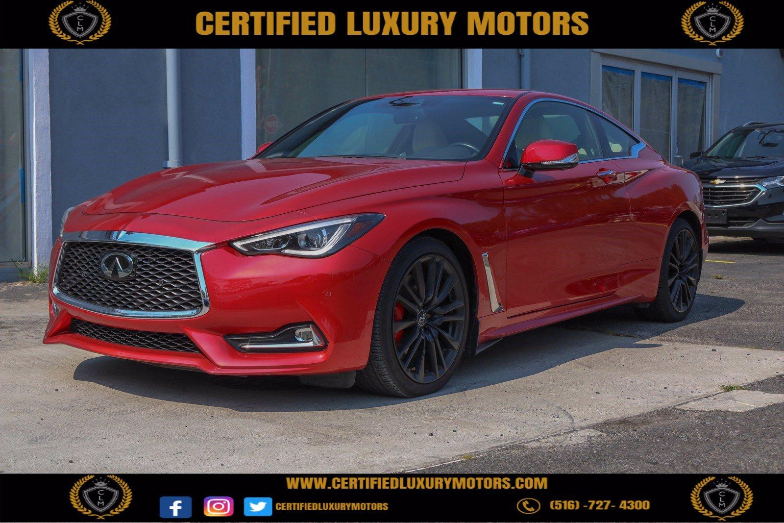 Used 2017 INFINITI Q60 Red Sport 400 | Great Neck, NY