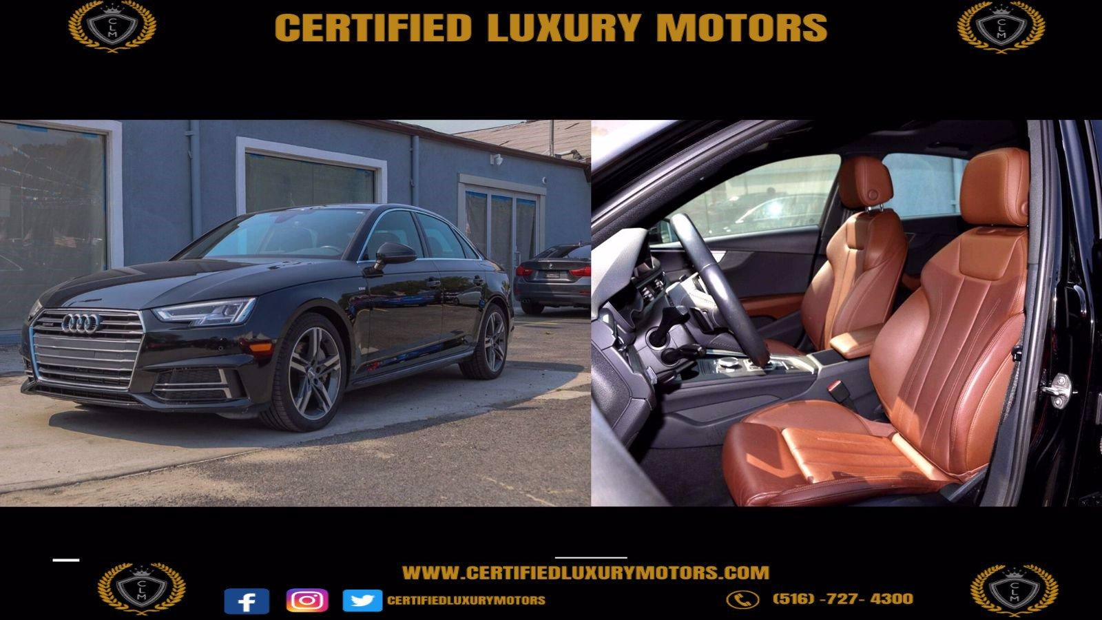 Used 2018 Audi A4 2.0 Tech Premium Plus  | Great Neck, NY