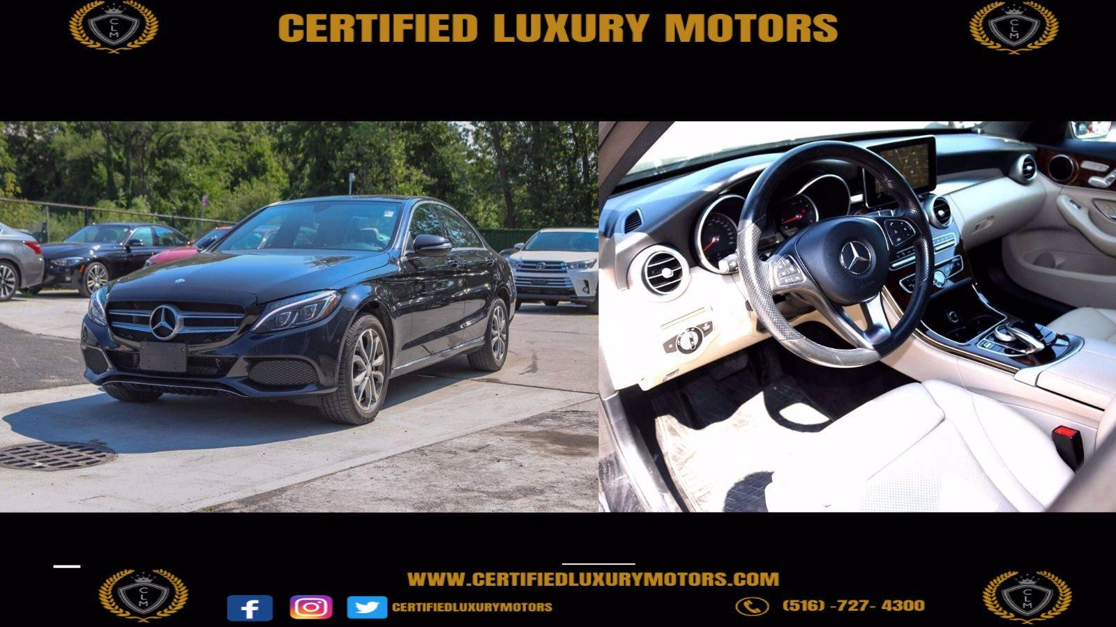 Used 2015 Mercedes-Benz C 300 4MATIC    Great Neck, NY